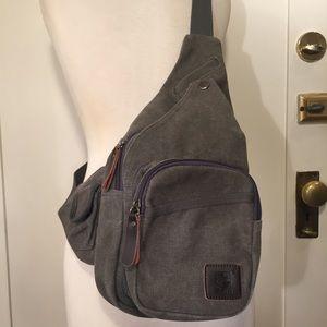 ORIS Canvas crossbody sling bag backpack unisex